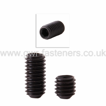 "1/4"" UNF Socket Grub Screws - High Tensile 14.9"